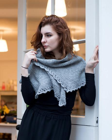 Filigree Shawl Crochet Pattern Walcot Yarns Knitting Pattern