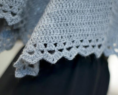 Filigree Shawl Crochet Pattern Walcot Yarns Pattern