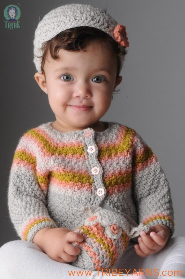 Florence Cardigan CROCHET Pattern Mrs Moon Pattern