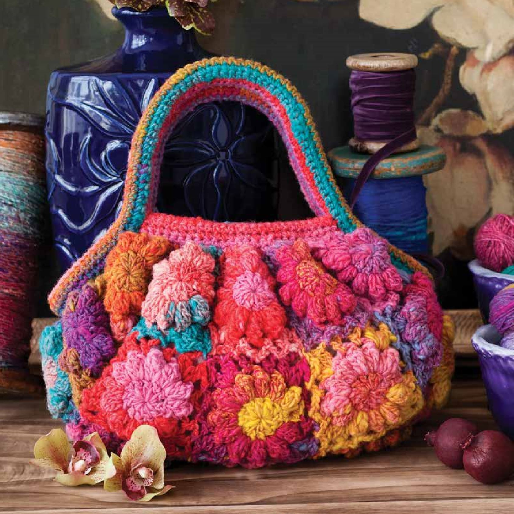 Flower Blossom Purse Pattern by Noro Noro Pattern