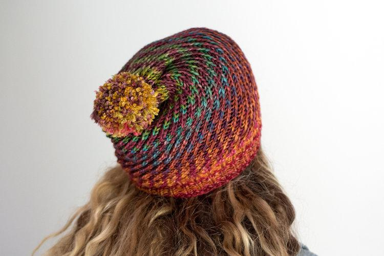 Flux Hat Pattern Urth Yarns Knitting Pattern