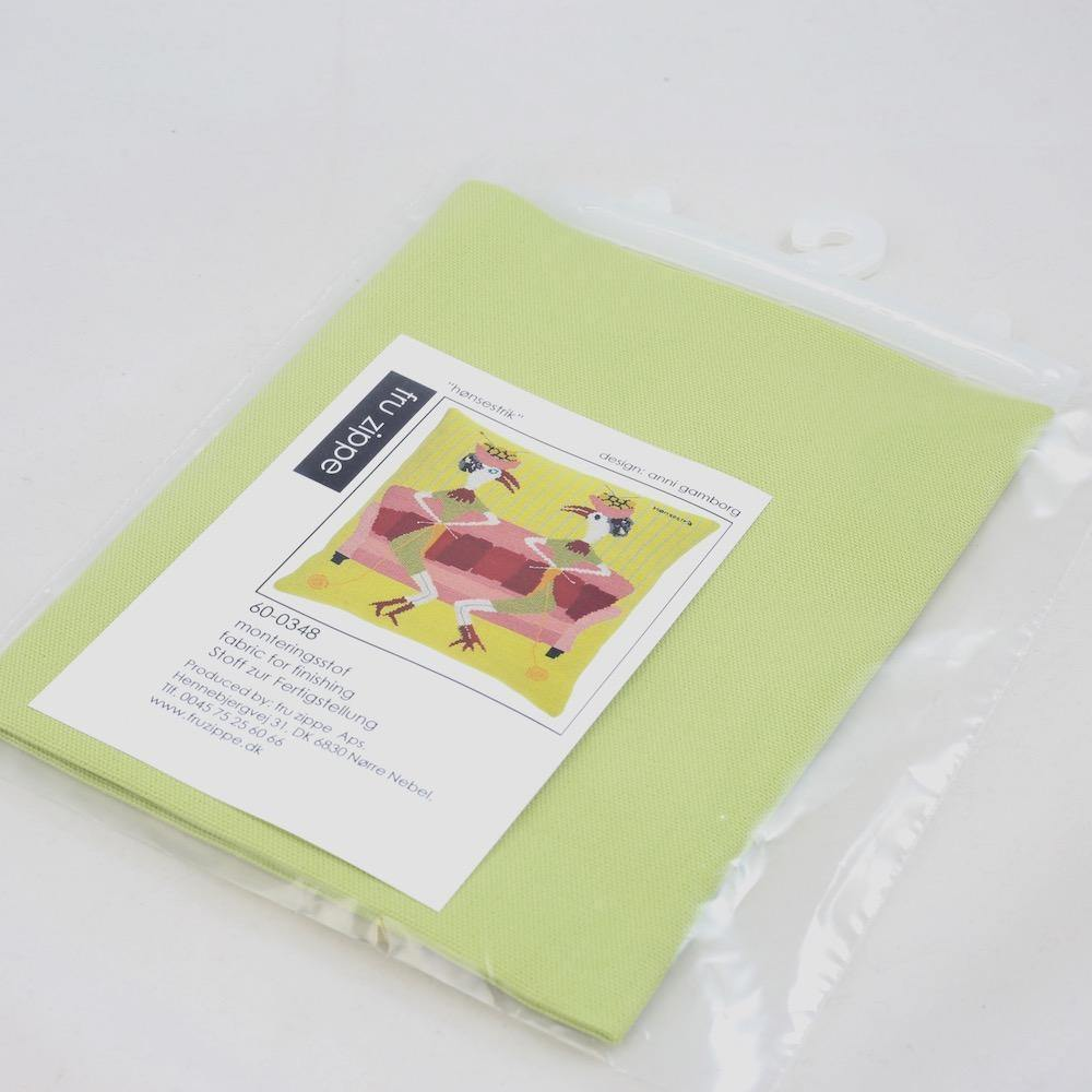 Fru Zippe: Backing Fabric for Knitter Natter Pillow Cross Stitch Kit Fru Zippe Other Stuff