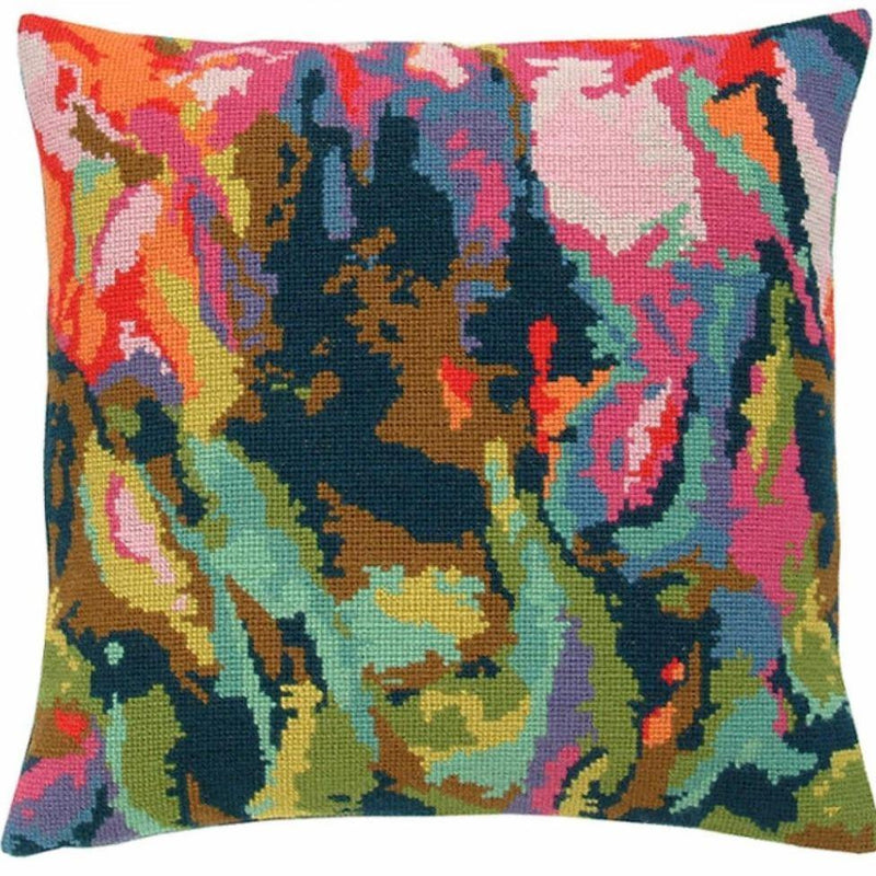 Fru Zippe: Chaos Pillow Cross Stitch Kit Fru Zippe Other Stuff