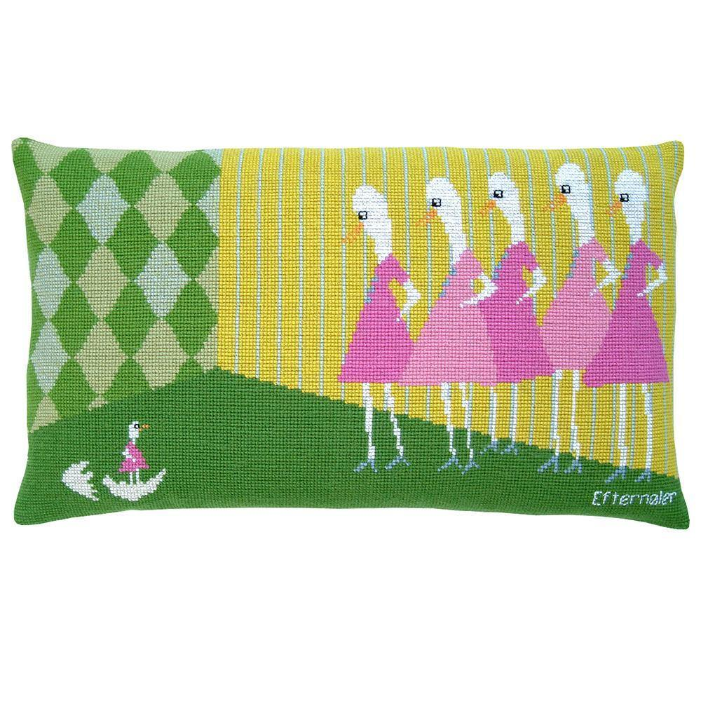 Fru Zippe: Latecomer Pillow Cross Stitch Kit Fru Zippe Other Stuff