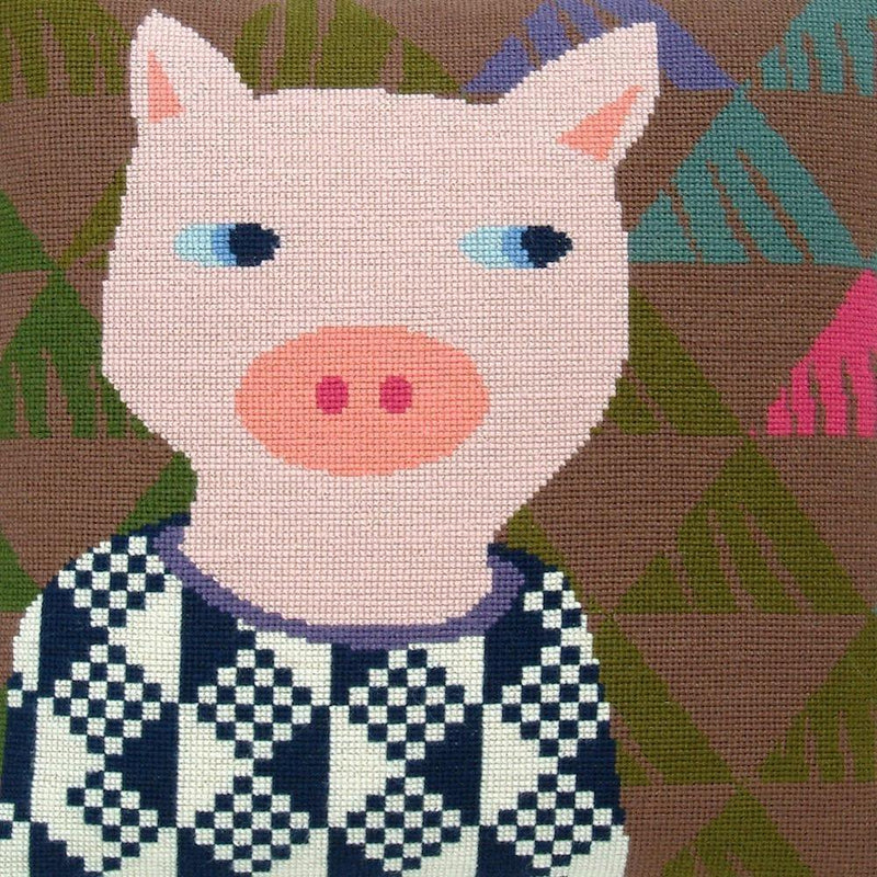 Fru Zippe: Pig Pillow Cross Stitch Kit Fru Zippe Other Stuff