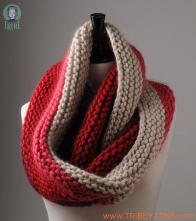 Garter Stitch Cowl Pattern Mrs Moon Pattern