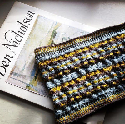 Geo Snood Pattern Di Gilpin Pattern