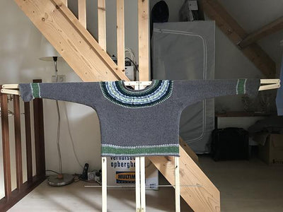 Geo Yoked Fair Isle Sweater Pattern Di Gilpin Pattern