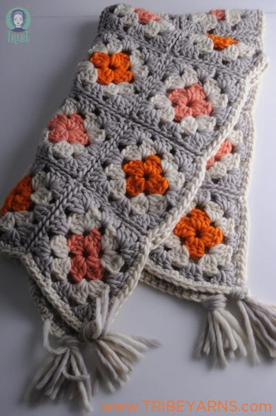Giant Granny Blanket CROCHET Pattern Mrs Moon Pattern