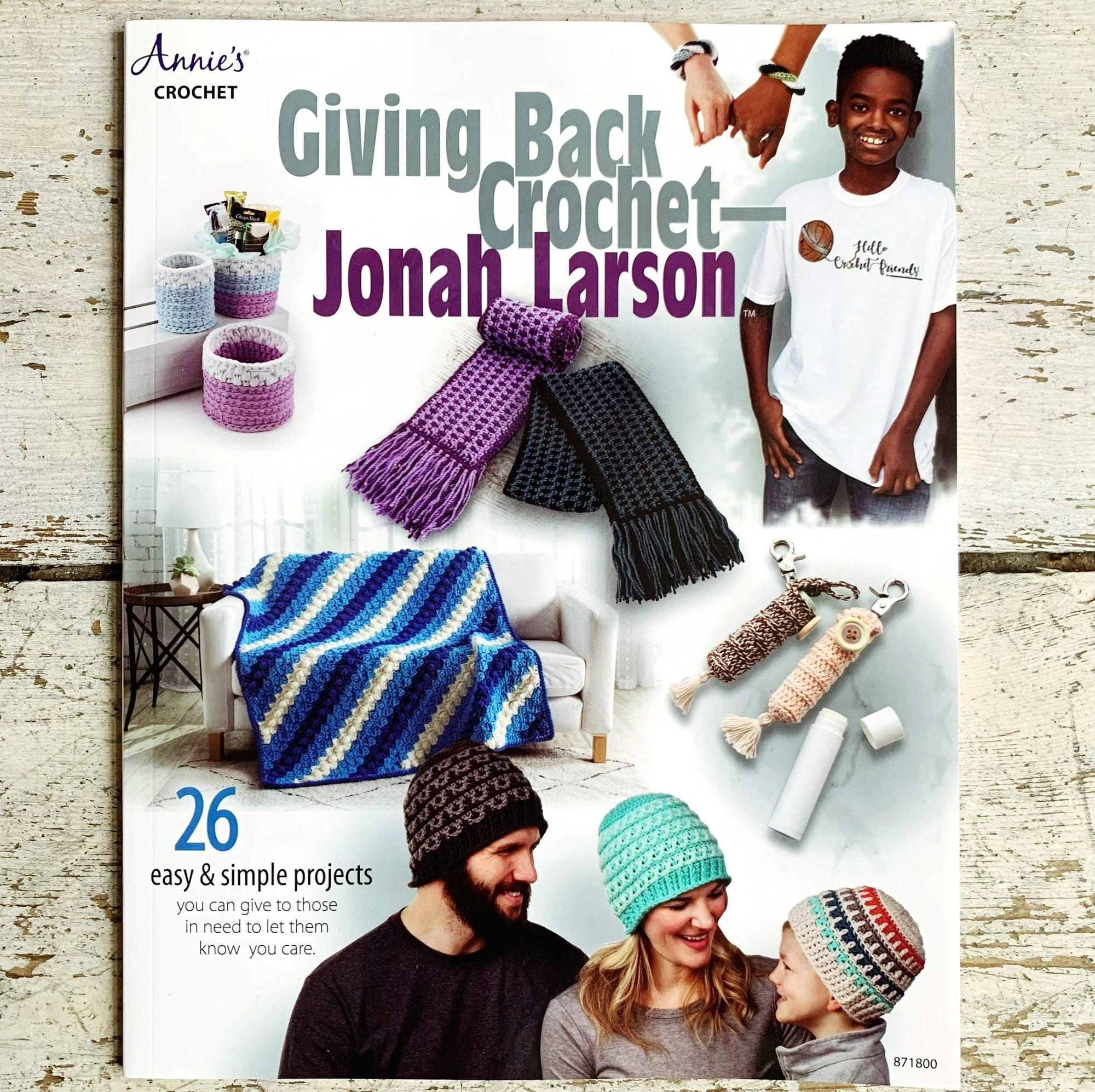 Giving Back Crochet Pattern Book by Jonah Larson Search Press Book