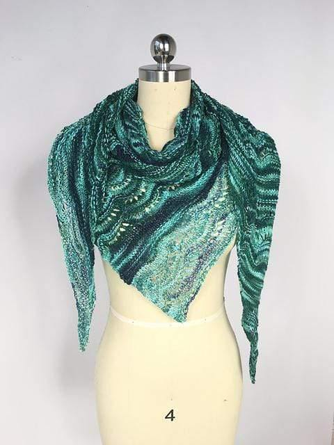 Glittery Icebergs Shawl Kit Artyarns Kits & Combos