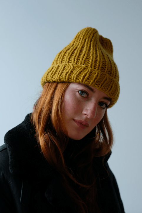 Gold Street Hat Pattern by Clinton Hill Cashmere Clinton Hill Cashmere Pattern
