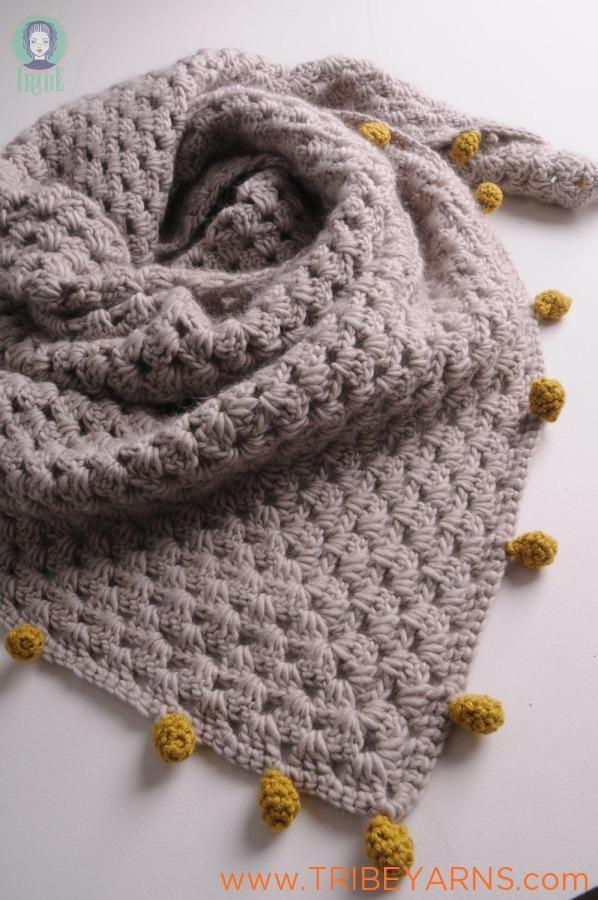 Granny Shawl CROCHET Pattern Mrs Moon Pattern