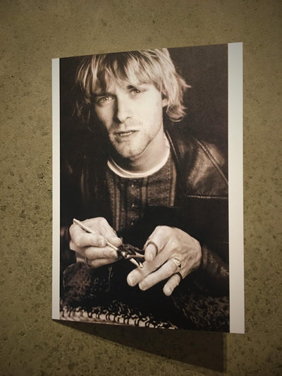 Greetings Card tribeyarns Gift Card Kurt Cobain