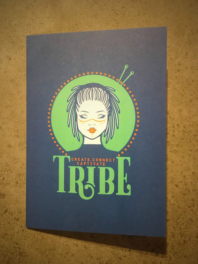 Greetings Card tribeyarns Gift Card Tribe Logo