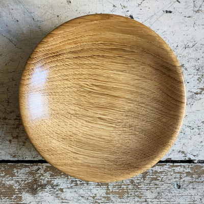 Hand-Turned Wooden Magnetic Bowl - English Oak tribeyarns Other Stuff