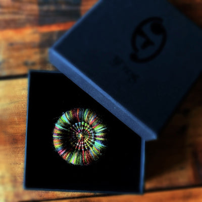 Handmade Dorset Button Brooches TJFrog Buttons & Fasteners