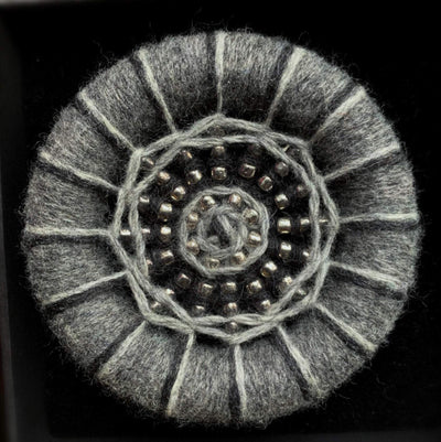 Handmade Dorset Button Brooches TJFrog Buttons & Fasteners Large 2