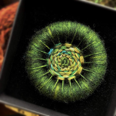 Handmade Dorset Button Brooches TJFrog Buttons & Fasteners Medium 1