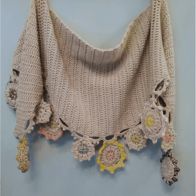 Harvest Shawl CROCHET Pattern Mrs Moon Pattern