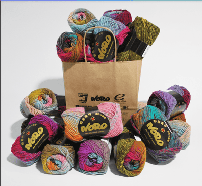 Heart Blanket Kureyon Kit Noro Kits & Combos Kit C