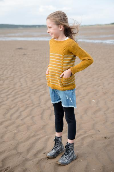 Hide & Seek Sweater Pattern Walcot Yarns Knitting Pattern
