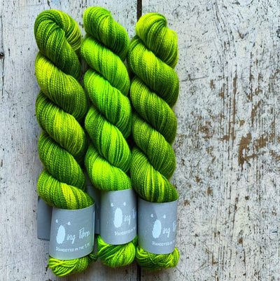 High Twist BFL Minis Qing Fibre Yarn Furling