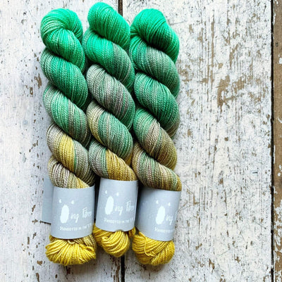High Twist BFL Minis Qing Fibre Yarn Liberty