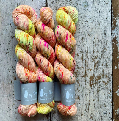 High Twist BFL Minis Qing Fibre Yarn Mai-Tai