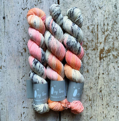 High Twist BFL Minis Qing Fibre Yarn Meow