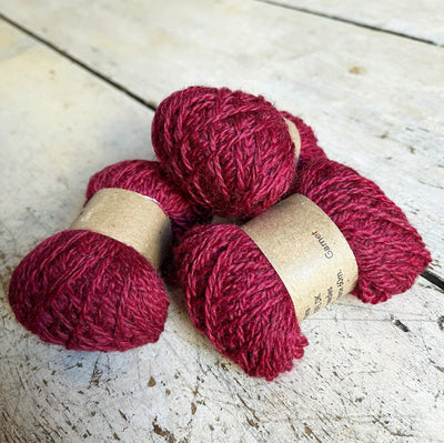 Hot Butter Mini DK Bundle Hot Butter Yarns Yarn Garnet HB