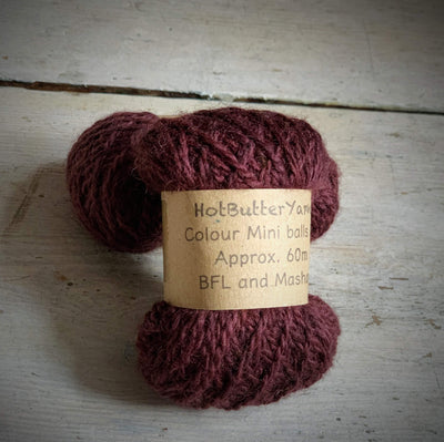 Hot Butter Mini DK Bundle Hot Butter Yarns Yarn Smoky Quartz HB