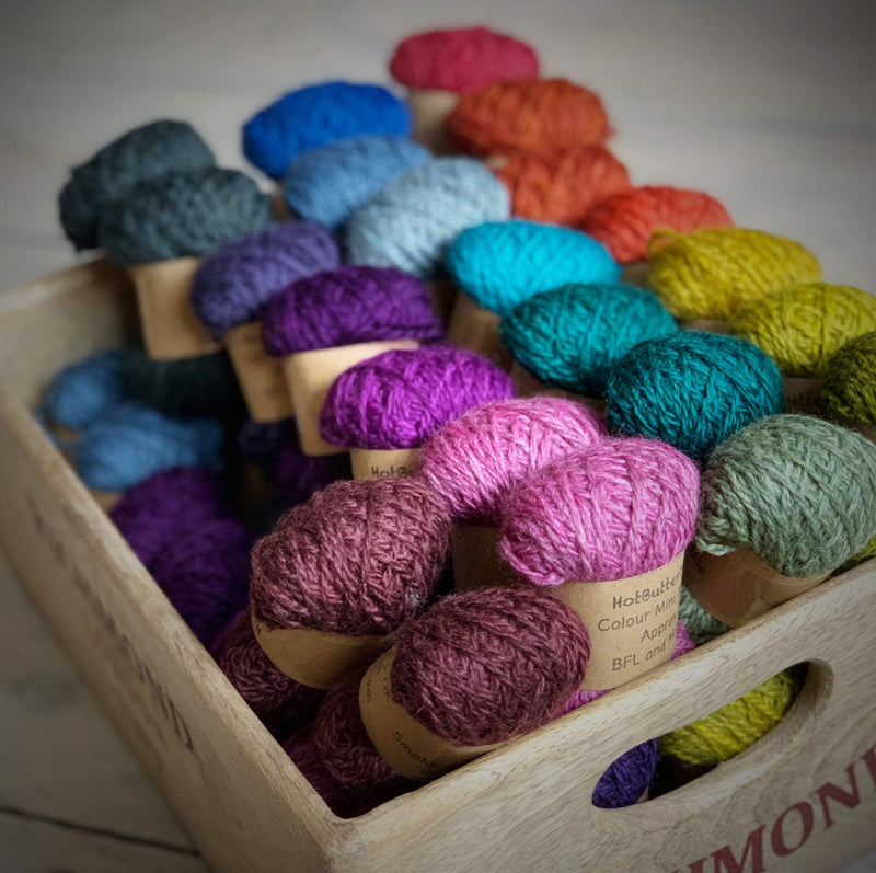 Hot Butter Mini DK Bundle Trava & Wool Yarn
