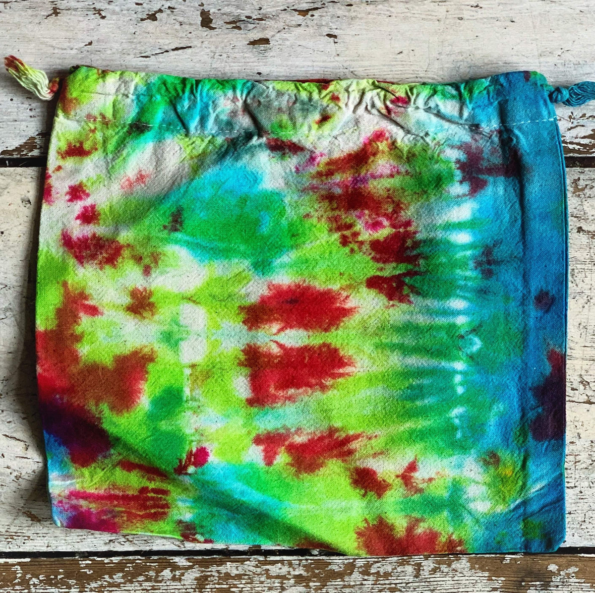 Ice Dyed Face Masks & Bags Jillybean Yarns Other Stuff