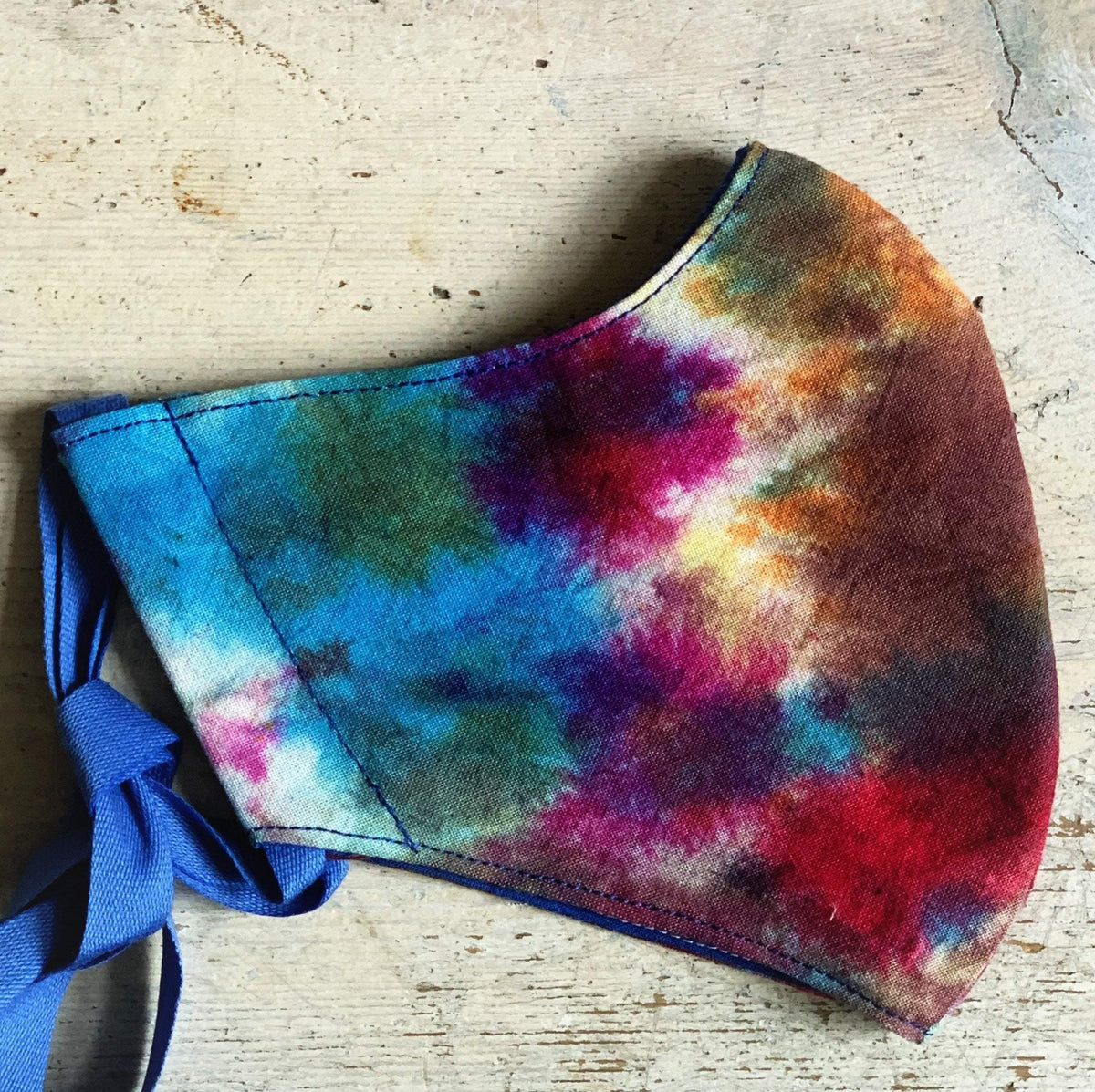 Ice Dyed Face Masks & Bags Jillybean Yarns Other Stuff Child / Deep