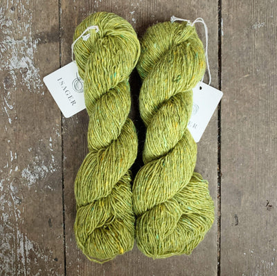 Isager Tweed (2,5) Isager Yarn Lime Is Tweed