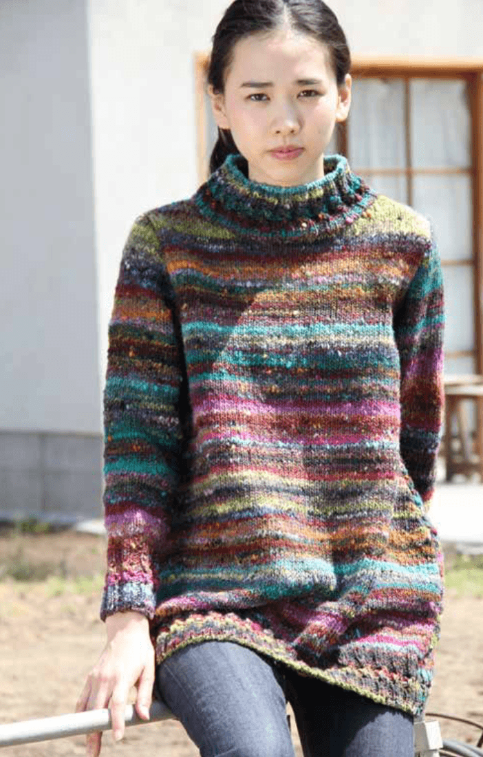 Ito Sweater Pattern by Noro Noro Pattern