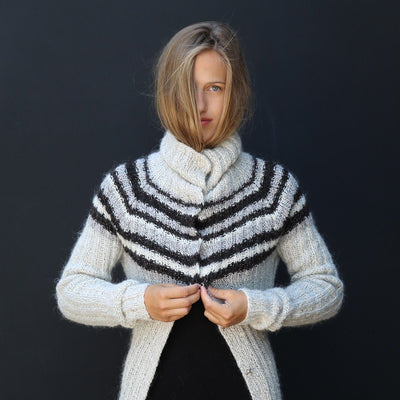 KBG 02 Cardigan Pattern einrum Knitting Pattern