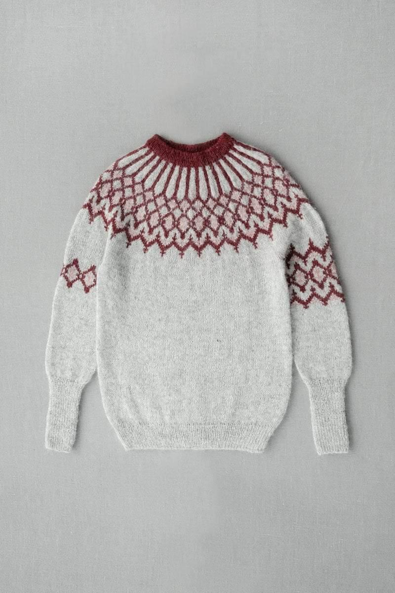 KBG 17 Sweater Pattern einrum Pattern