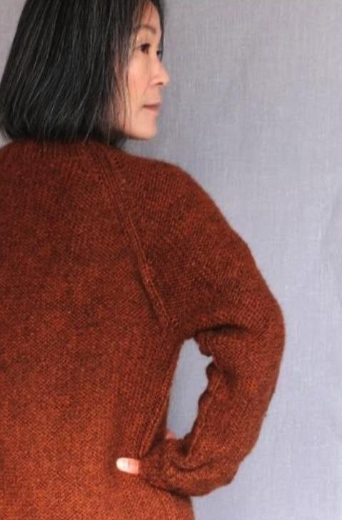 KBG 18 Girlfriend Sweater Pattern einrum Pattern
