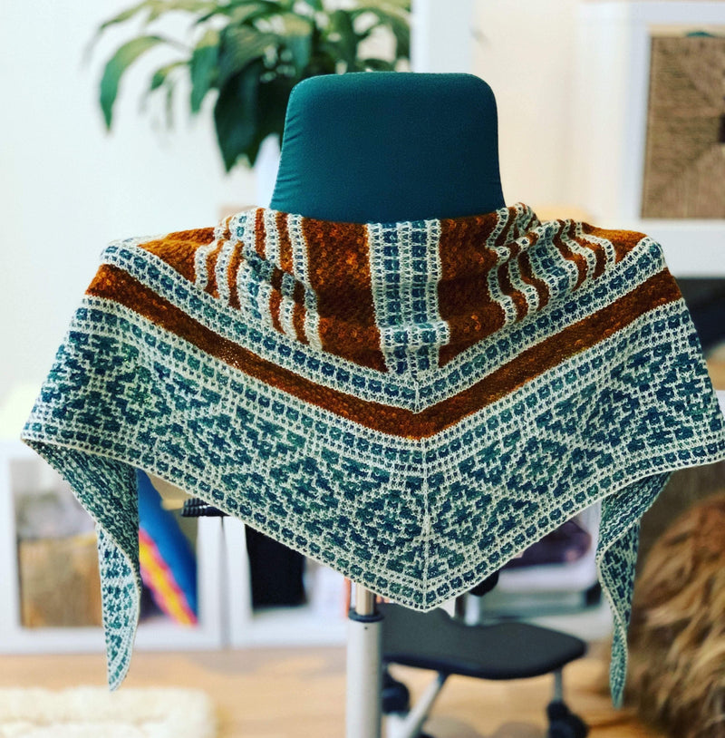 Knit a Shawl-KAL-Course: 19th June - 16th July tribeyarns Event