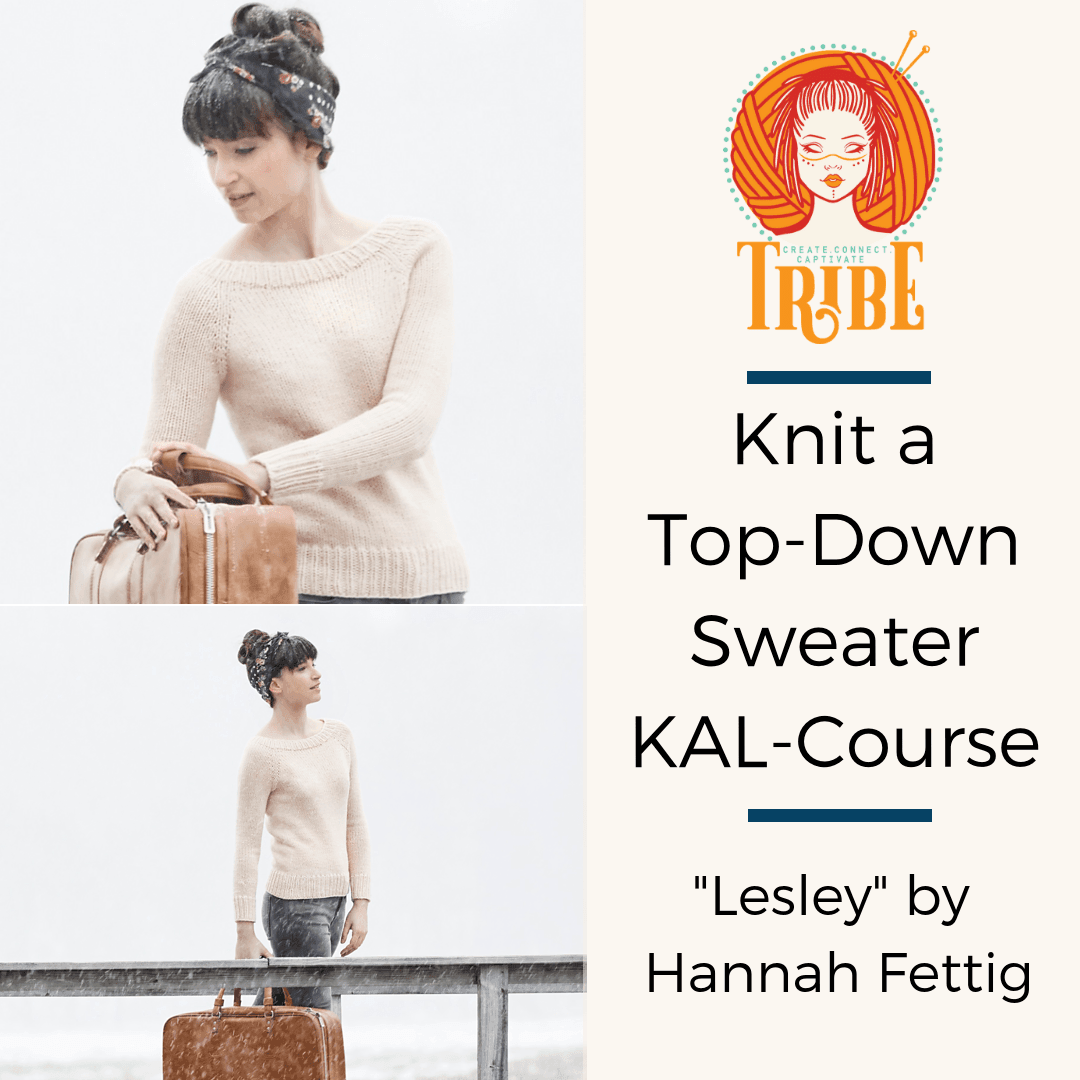 Knit a Top Down Sweater: 17th, 24th Jun, 1st Jul (EVENINGS) tribeyarns Event
