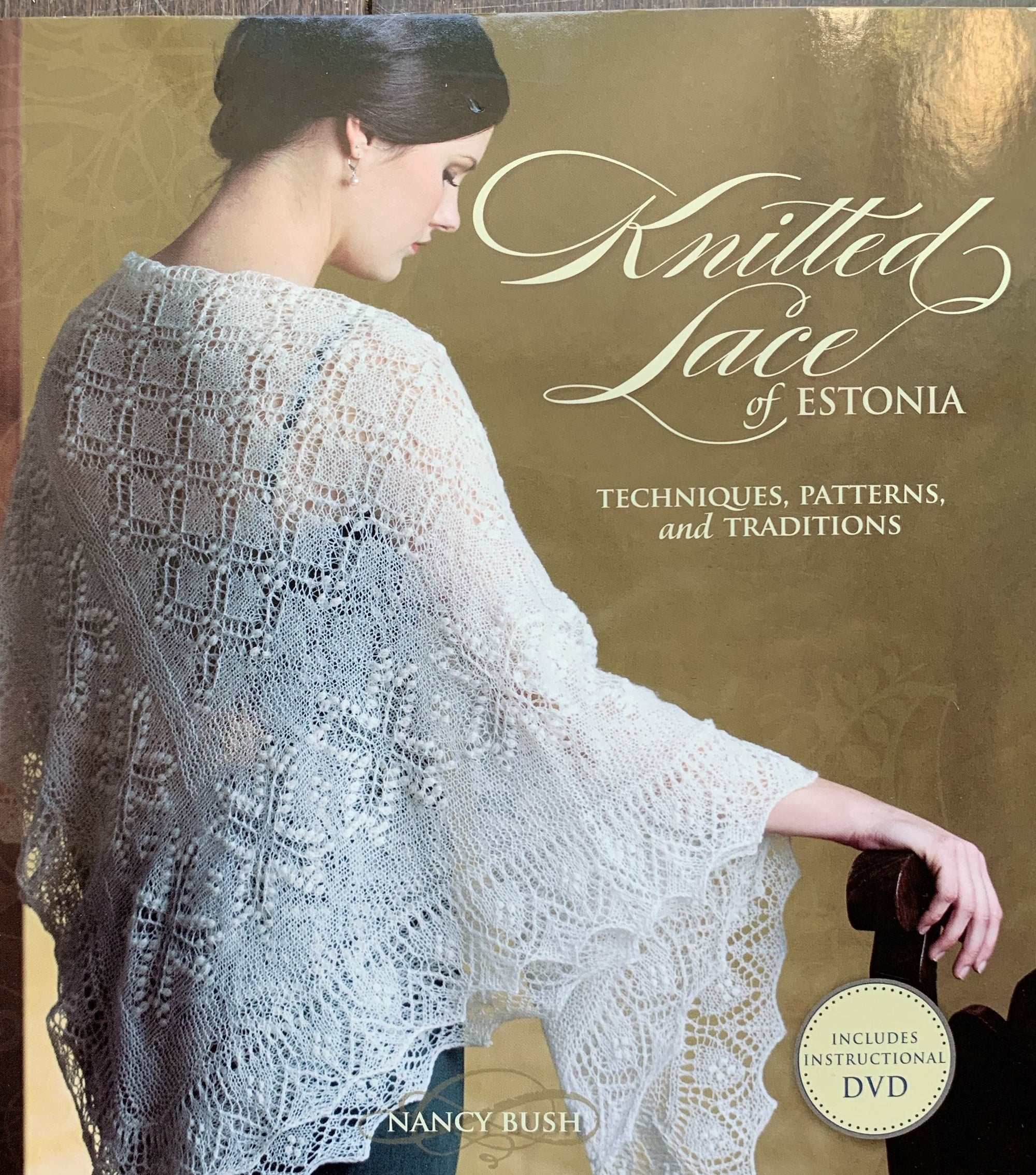 Knitted Lace of Estonia Book with DVD by Nancy Bush tribeyarns Book