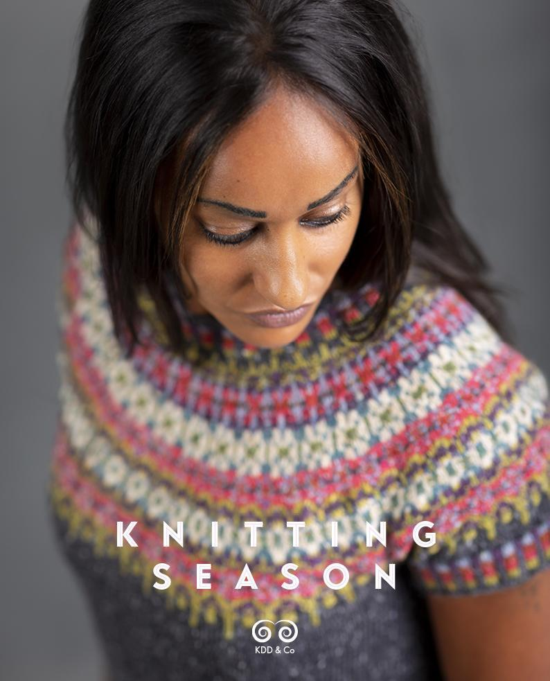 Knitting Season by Kate Davies Kate Davies Designs Book