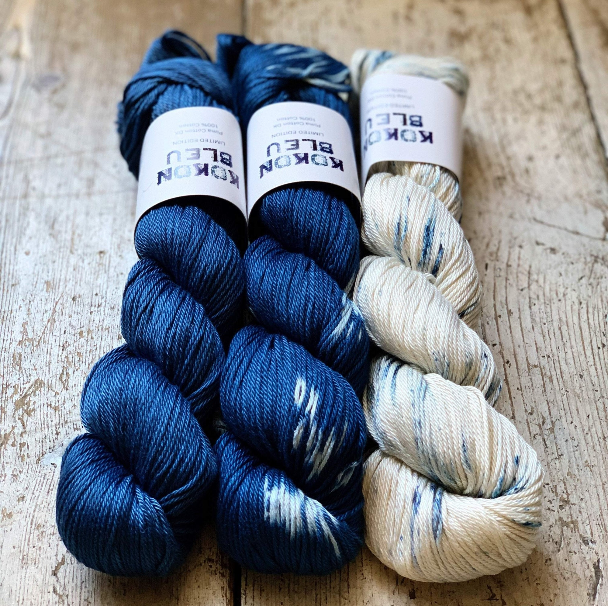 Kokon Bleu Cotton Kokon Bleu Yarn