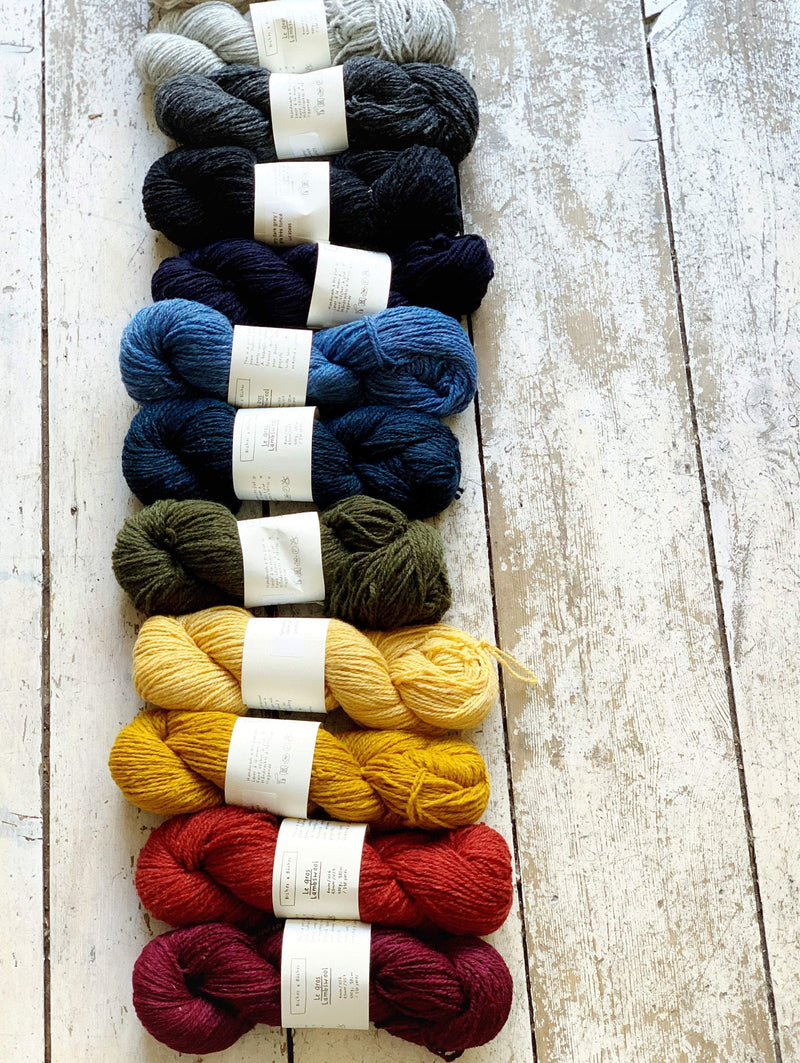 Le Gros Lambswool Biches & Bûches Yarn