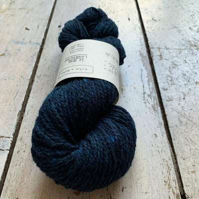 Le Gros Lambswool Biches & Bûches Yarn Le Gros Dark Blue Turquoise