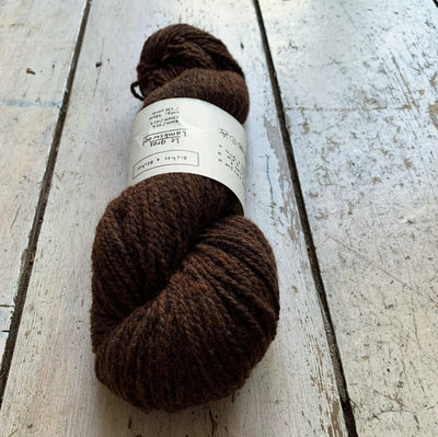 Le Gros Lambswool Biches & Bûches Yarn Le Gros Dark Brown