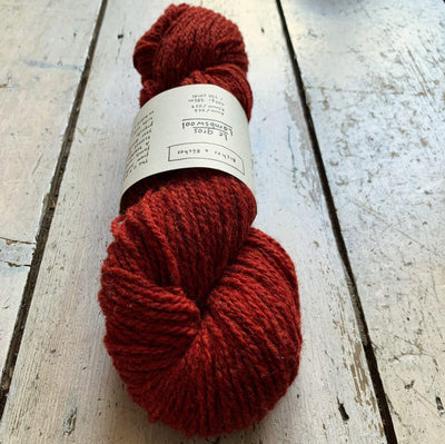 Le Gros Lambswool Biches & Bûches Yarn Le Gros Dark Red