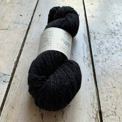 Le Gros Lambswool Biches & Bûches Yarn Le Gros Very Dark Grey